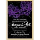 Masquerade Suite B Party Invitation