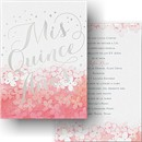 Mis Quince Shine Party Invitation