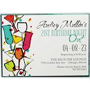 Mix 'n Mingle Suite A Party Invitation
