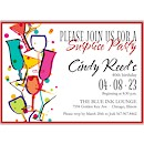 Mix 'n Mingle Suite D Party Invitation