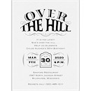 Over the Hill Birthday Party Invitation
