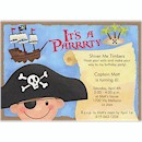 Pirate Party Birthday Party Invitation