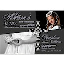 Precious Cross Suite C First Communion Invitation