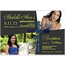 Precious Cross Suite D Quinceañera Invitation