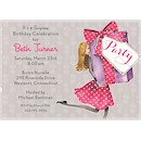 Pretty Party Box Blonde Party Invitation