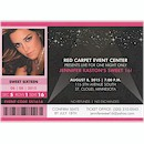 Red Carpet Event Birthday Party Invitation