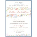 Retro Floral Suite C Party Invitation