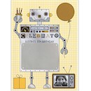 Robot Romp Birthday Party Invitation