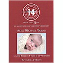 Simple Stamp Valentine's Baby Boy Valentine Card