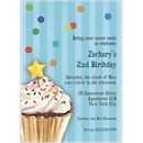 Sprinkles & Confetti in Blue Party Invitation