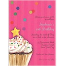 Sprinkles & Confetti in Pink Party Invitation