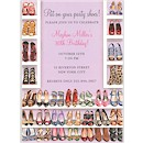 Stylish Shoe Closet Party Invitation