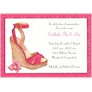 Summer Soiree Espadrille Party Invitation