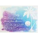 Sunset Suite A Party Invitation