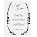 Sweet Floral Birthday Party Invitation