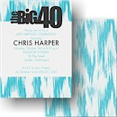 The Big 40 Birthday Party Invitation
