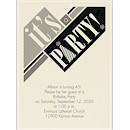 This Way Birthday Party Invitation