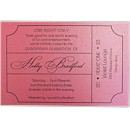 Ticket Suite A Party Invitation