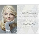 Triangle Style Photo Birthday Party Invitation