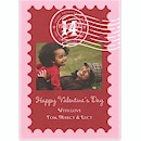Valentine's Stamp Valentine's Day Card