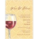 Vin Et Fromage Party Invitation