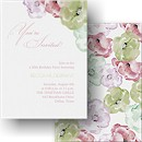Watercolor Blossoms Party Invitation