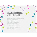 Watercolor Bubbles Party Invitation