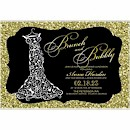 Whimsical Gown Suite B Party Invitation