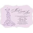Whimsical Gown Suite C Party Invitation