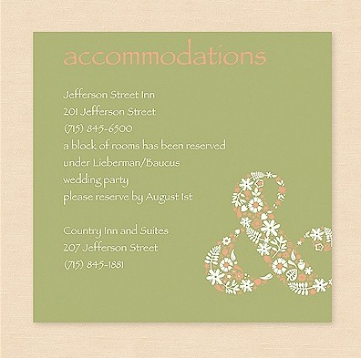Blooming Horizons Accommodation Card