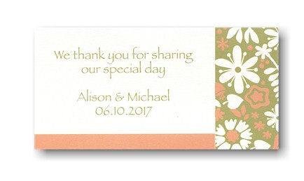 Blooming Horizons Place Card