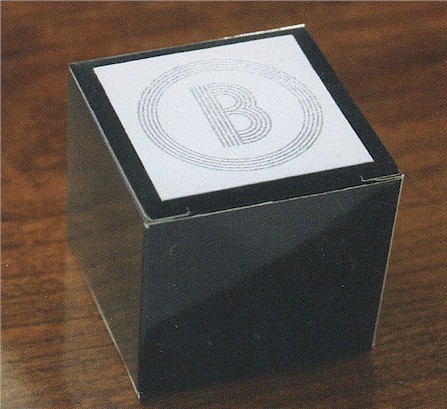 Electron Favor Box in Black or Silver