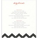 Chevron Stripes Direction Cards