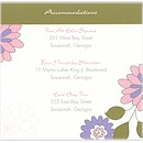 Joyful Blooms Accommodation Card