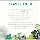 Jungle Love Accommodations Card