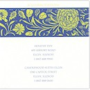 Lovely Lattice Accommodation Card