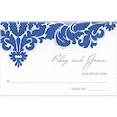 Modern Brocade Place Card