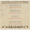 Rustic River Accommodation Cards