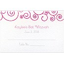 Swirls Place Cards