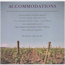 Wine Country Accommodations Card