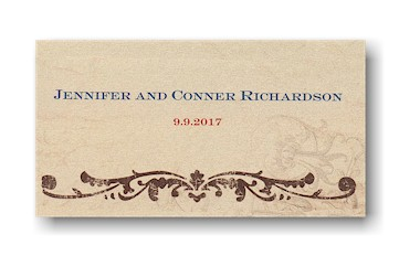 Rustic River Place Cards