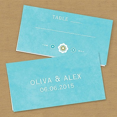 Sugared Style Place Card