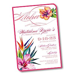 Aloha Party Invitation