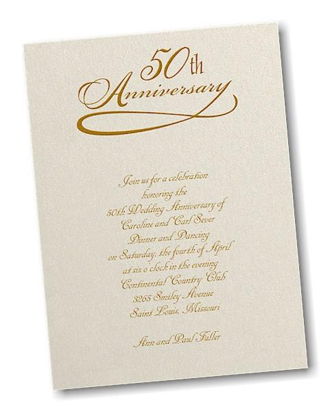 Years celebration anniversary invitation 50 years celebration anniversary invitation stopboris Gallery