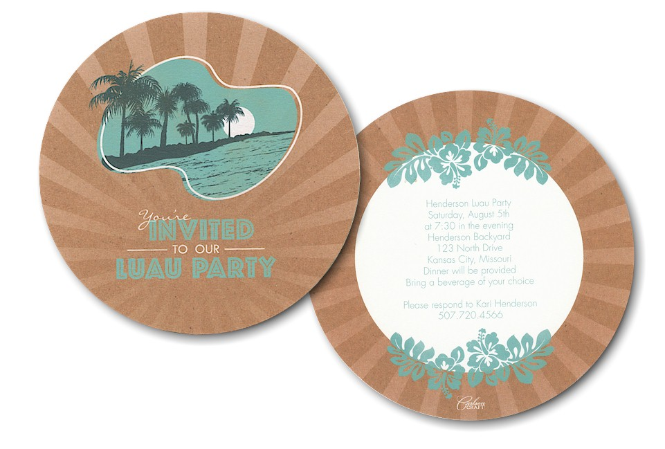 Invitation Party with great invitations ideas