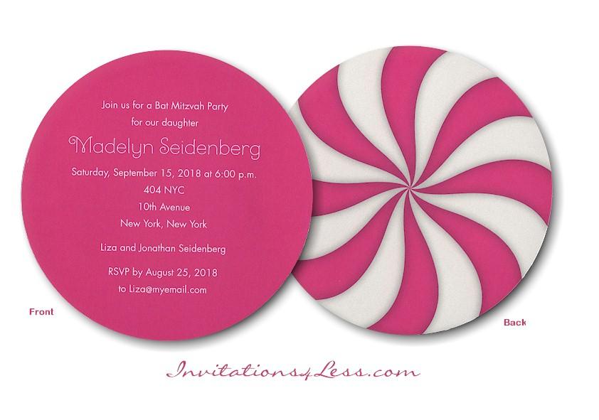 Swirls Party Invitation